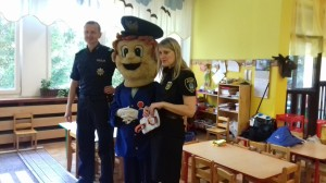 Bezpieczny Przedszkolak, czyli spotkanie ze Strażnikiem Miejskim oraz Policjantem